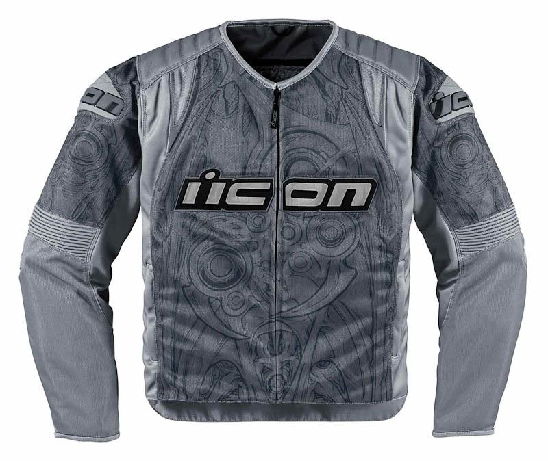 Мотокуртка Icon  Icon Overlord Sportbike SB1 , цвет: серый. Размер S -