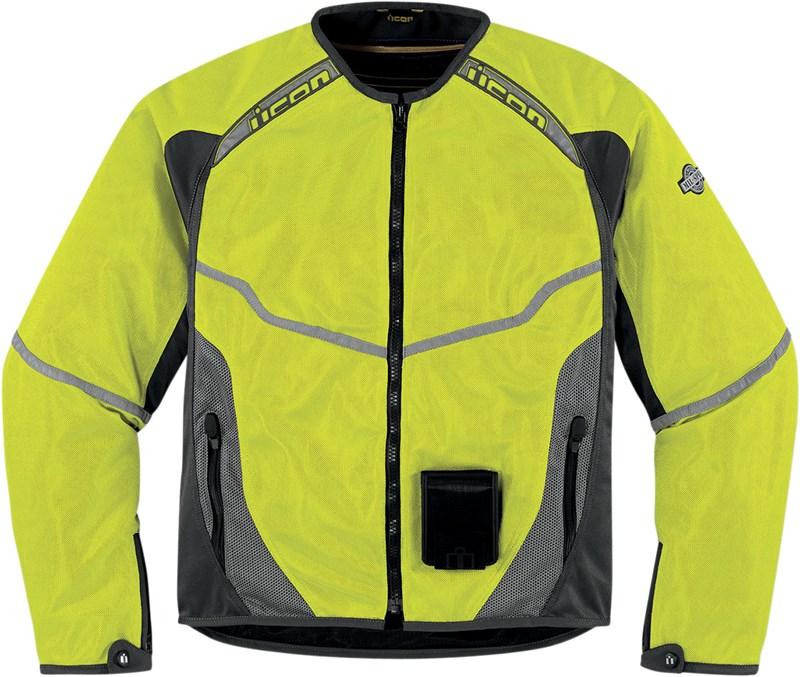 Мотокуртка Icon Icon Anthem Mesh Mil-spec, цвет: желтый. Размер M2820-2477Основа из износостойкого воздухопроницаемого текстиля Fighter Mesh, свободный покрой и СЕ-сертифицированные защиты локтей и плеч в комплекте с защитой спины из биогубки двойной плотности обеспечивают как надежную защиту, так и высокую мобильность.