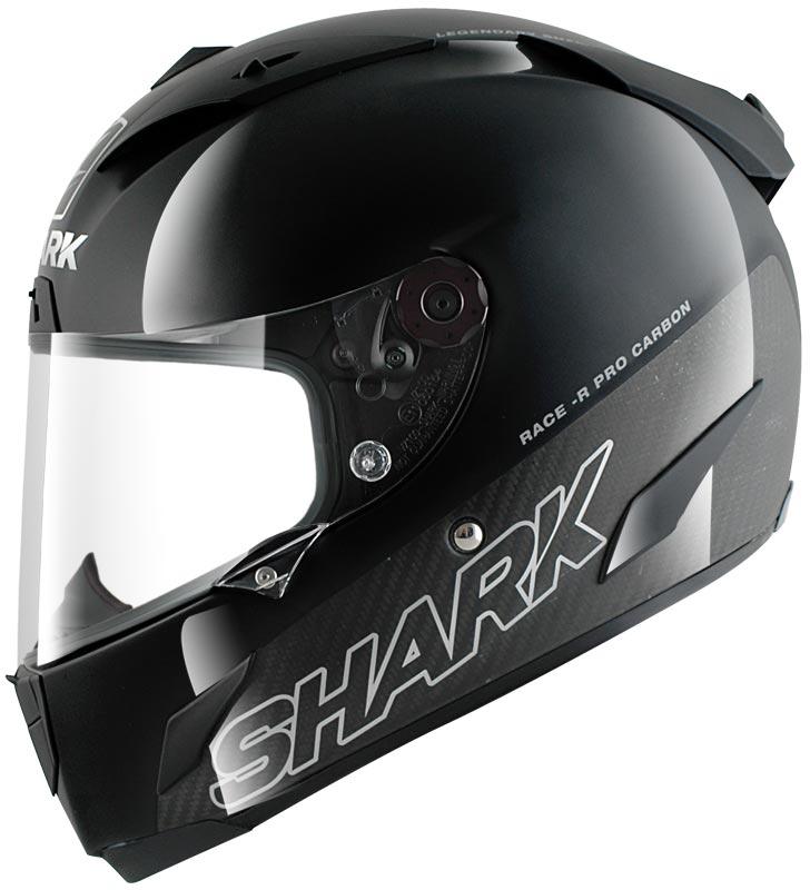 """Мотошлем Shark """"Race-r Pro Carbon"""", цвет: черный. HE8670E. Размер M"""
