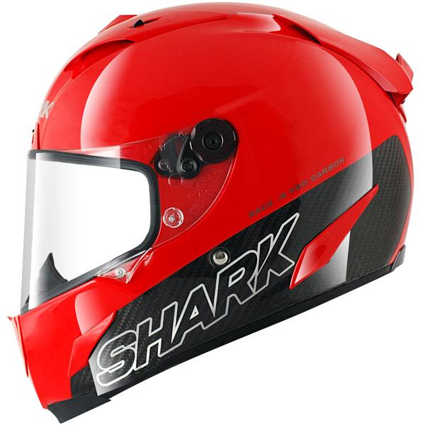 """Мотошлем Shark """"Race-r Pro Carbon"""", цвет: красный. HE8670E. Размер S"""