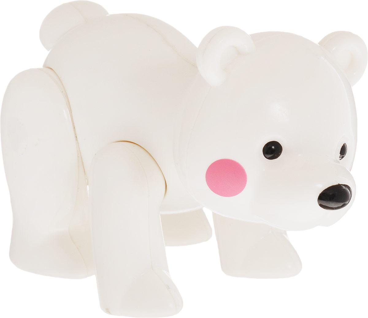 Ути-Пути Развивающая игрушка Медведь цвет белый ути пути развивающая игрушка обезьянка цвет красный оранжевый
