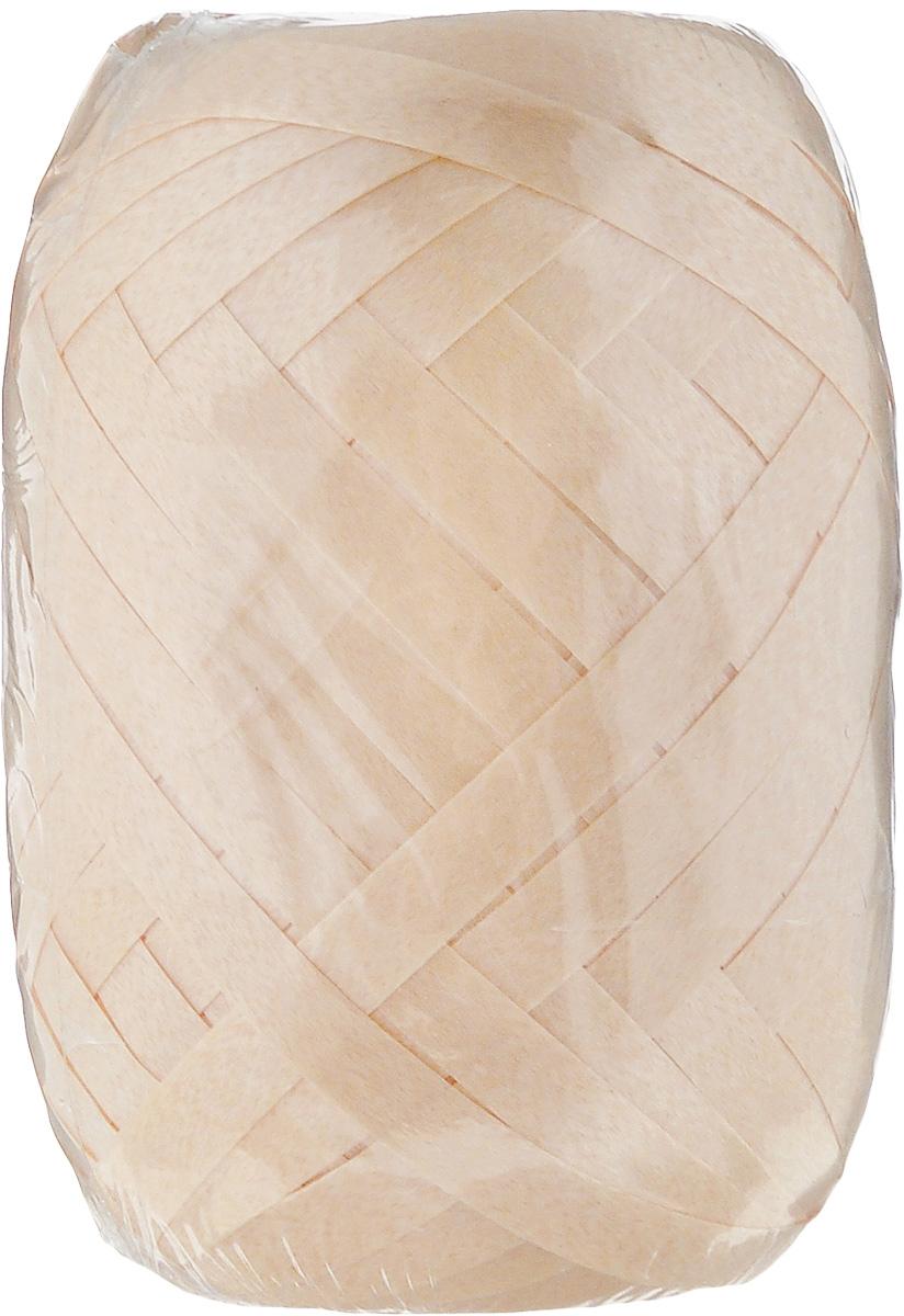 Лента Stewo, цвет: бежевый капучино, 5 мм х 20 м834149-51\STWЛента Stewo изготовлена из полиамида. Область применения ленты весьма широка. Изделие предназначено для оформления цветочных букетов, подарочных коробок, пакетов. Кроме того, она с успехом применяется для художественного оформления витрин, праздничного оформления помещений, изготовления искусственных цветов. Ее также можно использовать для творчества в различных техниках, таких как скрапбукинг.Ширина ленты: 5 мм.Длина ленты: 20 м.