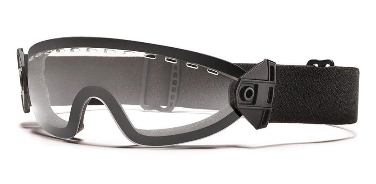 Защитные баллистические очки Smith Optics Boogie Soep, цвет: черныйBOOGBKCLЗащитные баллистические очки Smith Optics Boogie Soep фиксируются на голове при помощи эластичного, регулируемого по длине ремешка. При необходимости, ремешок мгновенно отстегивается от маски. Плотное прилегание очков к лицу исключает запотевание благодаря наличию системы вентиляции. Помимо этого, на очки нанесено специальное дисперсионное покрытие, защищающее их от царапин и отпотевания. Очки гарантируют 100% защиту от ультрафиолета.