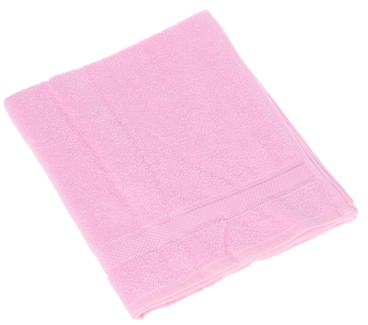 Полотенце Brielle Basic, цвет: розовый, 70 х 140 см1210Полотенце Brielle Basic выполнено из натурального хлопка.Изделие очень мягкое, оно отлично впитывает влагу, быстро сохнет, сохраняет яркость цвета и не теряет формы даже после многократных стирок. Полотенце Brielle Basic очень практично и неприхотливо в уходе. Такое полотенце послужит приятным подарком.