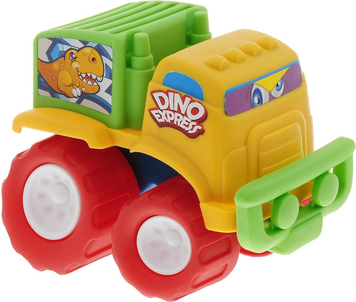 Keenway Машинка-игрушка Mini Monster Wheel цвет кабины желтый