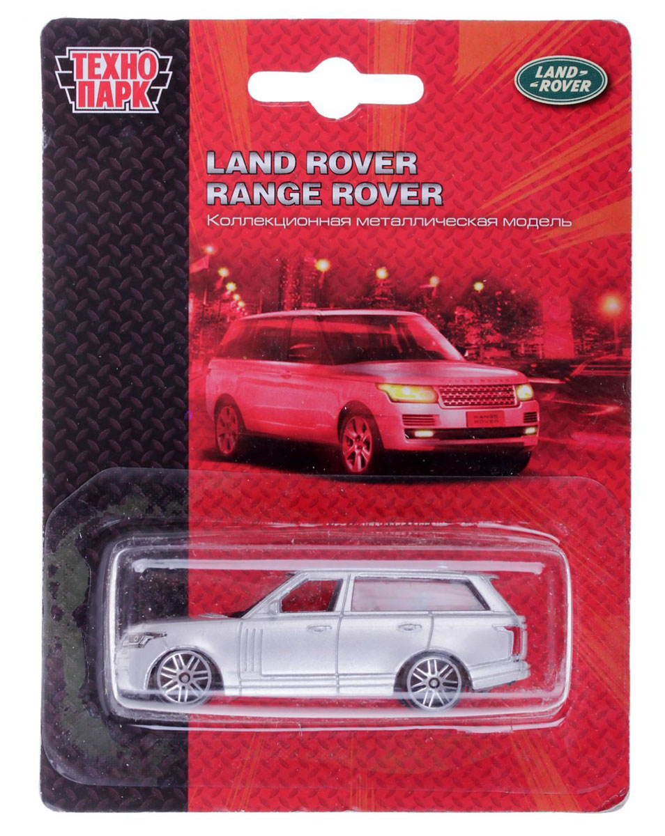 ТехноПарк Автомобиль Land Rover Range Rover технопарк игровой набор светофор