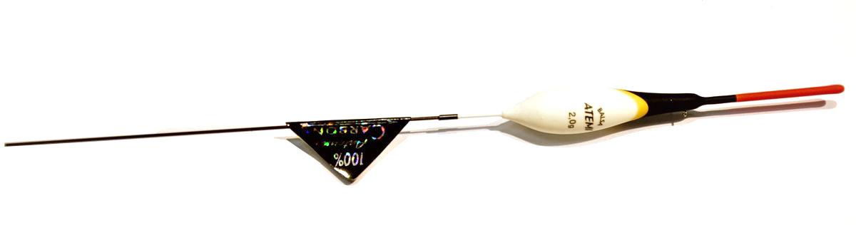 Поплавок Atemi Forza, 2 г. 405-10420405-10420Поплавок Atemi Forza предназначен для ловли на течении. Выполнен из бальзы - легкой и стойкой к влаге древесины. Качественная внешняя отделка обеспечит продолжительный срок службы.Вес огрузки: 2 г.