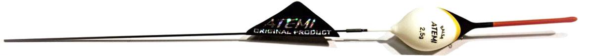 Поплавок Atemi Bello, 2,5 г. 407-00043407-00043Поплавок Atemi Bello изготовлен из бальзы - легкой и стойкой к влаге древесины. Качественная внешняя отделка обеспечит продолжительный срок службы. Все характеристики тщательно разрабатывалось производителем для повышения чувствительности оснастки и лучшей видимости поплавка рыболовом.Вес огрузки: 2,5 г.