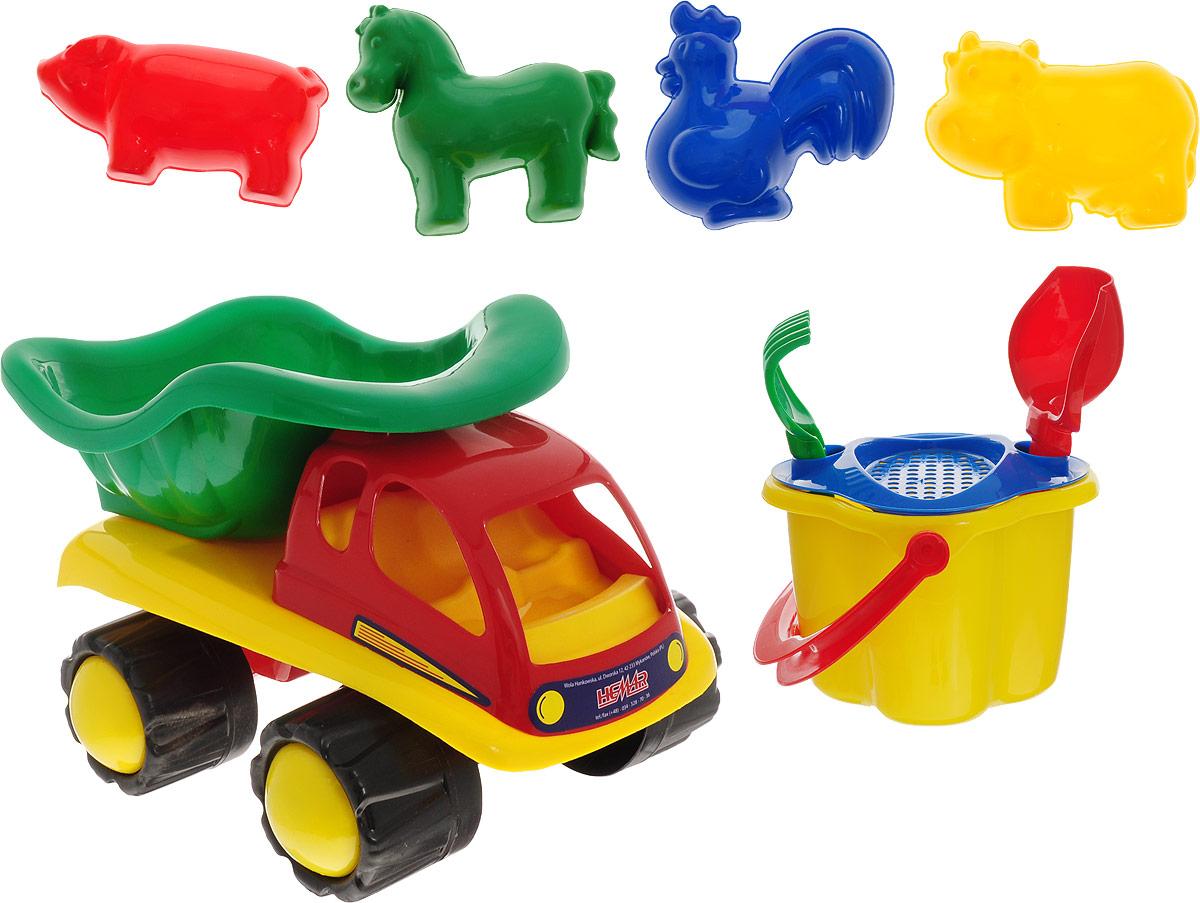 Hemar Набор для песочницы Автотюльпан 9 предметов hemar набор для песочницы авто ptys 9 предметов