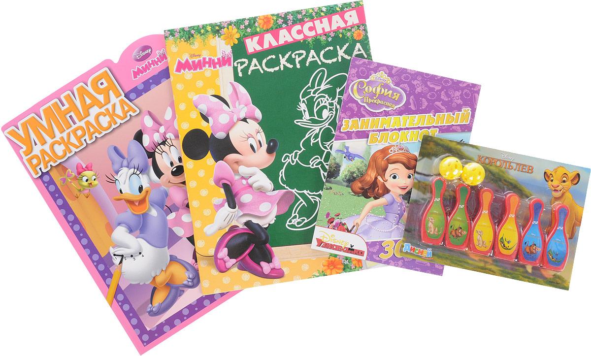 Disney Узнавайка (комплект из 3 книг + игровой набор)
