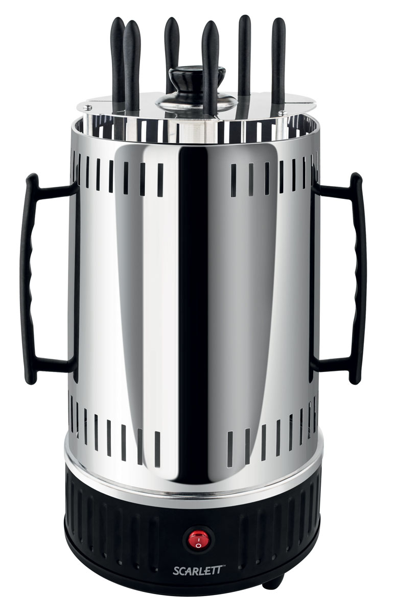 Scarlett SC-KG22601, Black электрошашлычница - Электрогрили