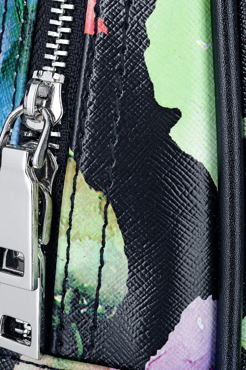 Рюкзак женский OrsOro, цвет:  черный, мультиколор.  D-241/66 OrsOro