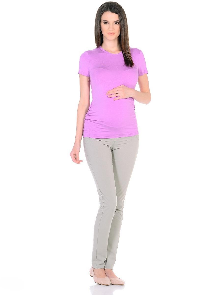 Брюки для беременных 40 недель, цвет: бежевый. 101200. Размер 50