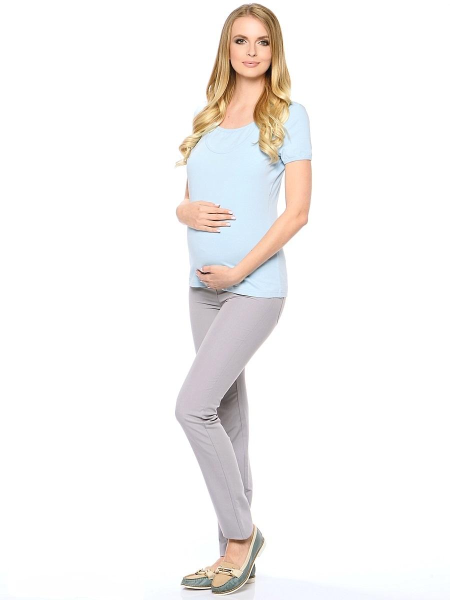 Брюки для беременных 40 недель, цвет: светло-серый. 101194. Размер 50101194Классические зауженные брюки для беременных от бренда 40 недель выполнены из приятного к телу материала с высоким содержанием хлопка и вискозы. Модель дополнена двумя задними накладными карманами, трикотажной вставкой для животика с регулируемой резинкой в поясе. Спереди брюки оформлены декоративной прострочкой на карманах и пояске. Благодаря прекрасной посадке и продуманному дизайну брюки подойдут как на всем сроке беременности, так и после нее.