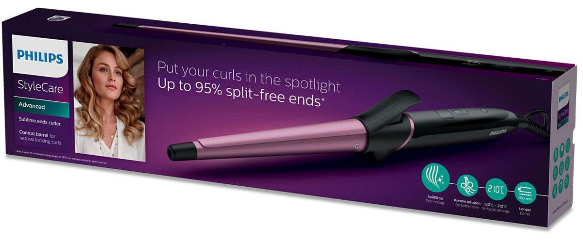 Philips BHB871/00 Sublime Endsщипцы для завивки волос Philips