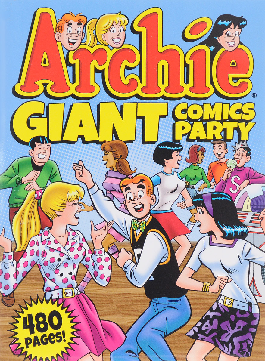 ARCHIE GIANT COMICS PARTY awkward