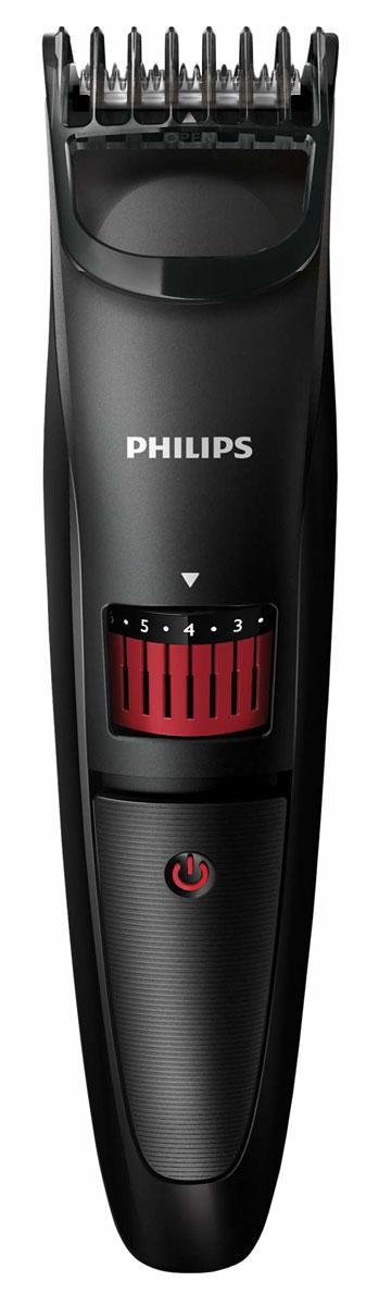 Philips QT4005/15 триммер для бороды с 20 установками длиныQT4005/15Создавайтестильныеобразыспомощьютриммерадлябороды Philips QT4005/15.Точноеподравниваниеот 0,5ммдо10мм.Просто поверните колесико для выбора и фиксации нужной установки длины: от установки для трехдневной щетины 0,5 мм до длинной бороды 10 мм (шаг 0,5 мм).Идеальное подравнивание и защита кожи день за днем. Стальные лезвия триммера всегда остаются такими же острыми, как и в первый день использования: они затачиваются самостоятельно, слегка касаясь друг друга во время работы прибора.Лезвия всегда остаются очень острыми и гарантируют быструю и аккуратную стрижку, а закругленные края и гребни предотвращают раздражение кожи.Работа только от аккумулятора. До 45 минут автономной работы после 10 часов зарядки.Удобно держать и использовать — конструкция прибора позволяет обрабатывать даже труднодоступные участки.Для удобства при очистке снимите головку и промойте под струей воды. Прежде чем снова прикрепить к прибору, полностью просушите ее.