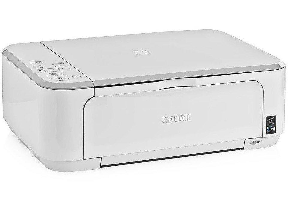 Canon Pixma MG3640, White МФУ0515C027МФУ Canon Pixma MG3640 создано для тех, кто хочет с легкостью подключаться к мобильным устройствам и облачным ресурсам.С легкостью печатайте потрясающие фотографии с высокой детализацией без полей, а также документы с четким текстом профессионального качества - все благодаря системе картриджей Canon FINE и разрешению до 4800 точек на дюйм. Благодаря скорости печати документов ISO ESAT 9,9 изобр./мин в монохромном и 5,7 изобр./мин в цветном режиме вы получаете фотографию без полей размером 10x15 см за 44 секунду. С помощью улучшенного приложения PIXMA Cloud Link вы можете мгновенно распечатать фотографии из Facebook, Instagram или онлайн-альбомов; распечатать документы из таких облачных ресурсов, как Google Drive, OneDrive и Dropbox или отправить в них отсканированные изображения; вы даже можете отправлять отсканированные файлы/изображения электронной почтой - не используя ПК.Ваш смартфон всегда у вас под рукой, а с ним - и МФУ. Просто загрузите приложение Canon PRINT и получите возможность печатать и сканировать со смартфонов и планшетов, а также прямой доступ к облачным ресурсам. Встроенный режим точки доступа создает беспроводную сеть в режиме ad hoc - так вы можете выполнять печать и сканирование напрямую без подключения к сети Wi-Fi или интернету.Минимум расходов и максимум экономии. Печатайте больше страниц за меньшие деньги с дополнительно приобретаемыми картриджами XL, которые снижают стоимость печати на 50%, и экономить бумагу с помощью функции автоматической двусторонней печати.Струйный или лазерный принтер: какой лучше? Статья OZON Гид