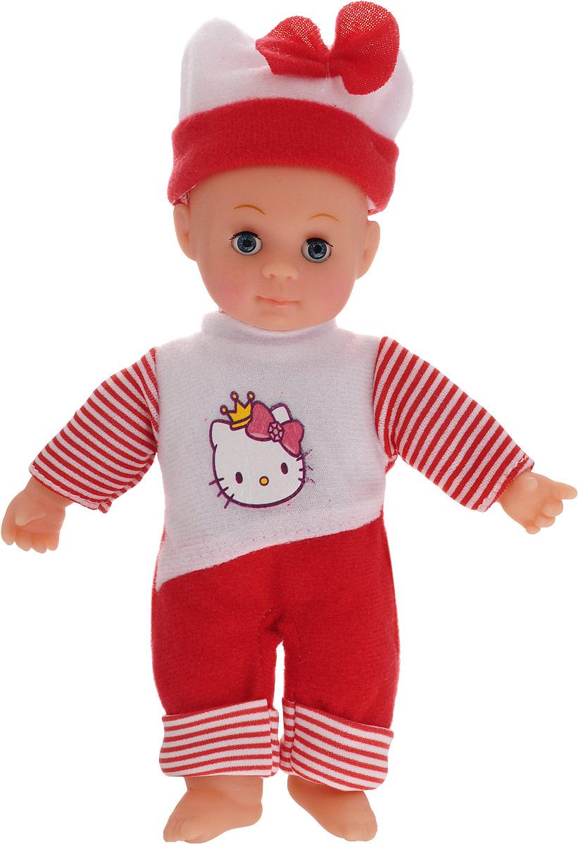 Карапуз Пупс озвученный Hello Kitty цвет одежды белый красный