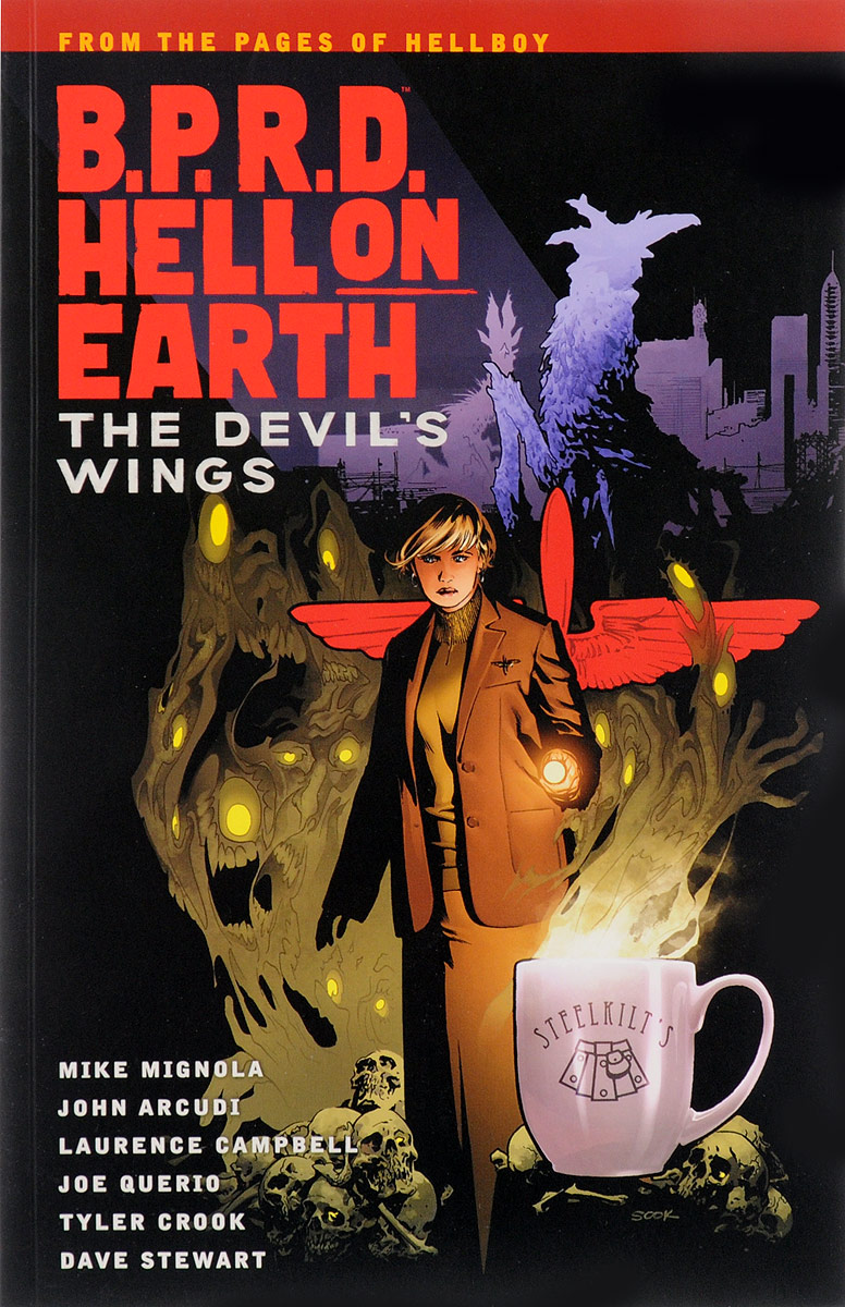 B.P.R.D Hell on Earth Volume 10: The Devils Wings брюки greg horman greg horman gr020emxgz64