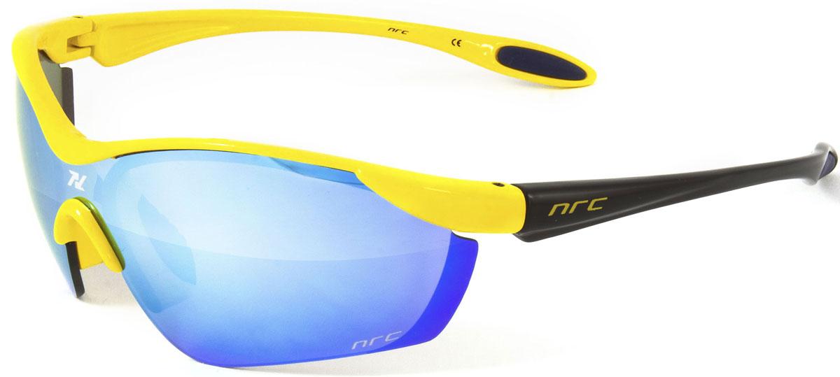 Очки солнцезащитные NRC, цвет: желый. 2103321033Очки солнцезащитные NRC - предназначены, как для езды на велосипеде, так и для многих других видов спорта. Бренд NRC известен собственными фирменными разработками, адаптирующими очки под разные климатические условия, различное время суток, степень освещенности, а также под индивидуальные потребности каждого конкретного пользователя. Особенности:Синие зеркальные линзыМатериал оправы – Нейлон (TR90)Оправа - изогнутые и удобныеМатериал линзы - поликарбонат (РС)Особенности линзы - фотохромныеПокрытие – защитное от царапин, антизапотевающее, зеркальноеПрозрачность -11%Категория фильтра -3Вес -22,2 гКривизна (изгиб) -7