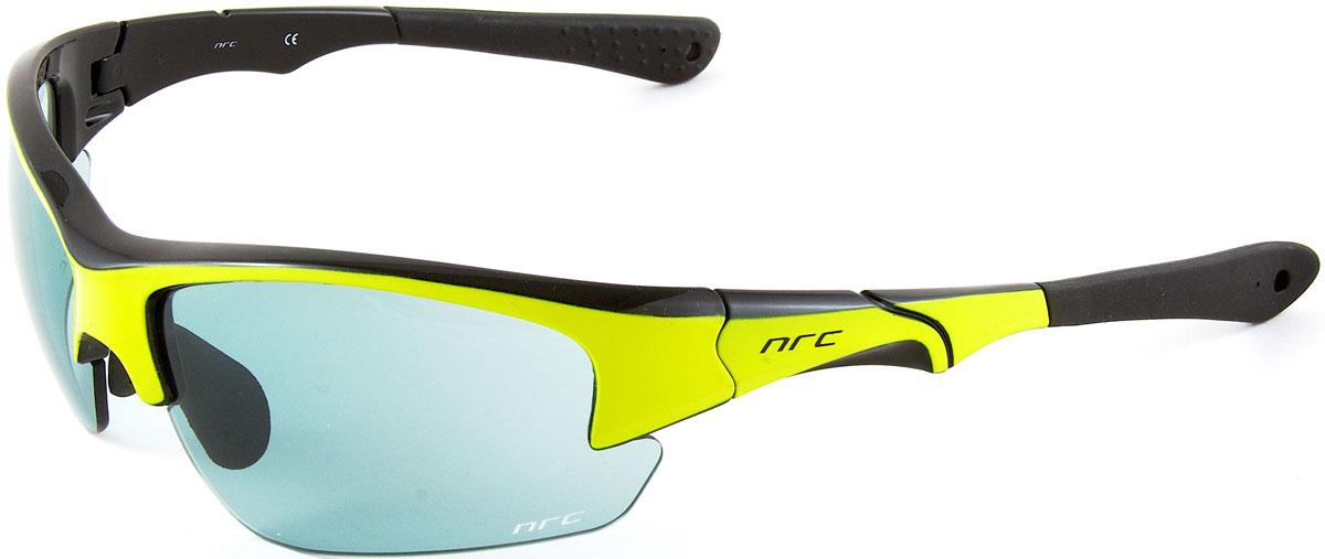Очки солнцезащитные NRC, цвет: желый. 2103821038Очки солнцезащитные NRC - предназначены, как для езды на велосипеде, так и для многих других видов спорта. Бренд NRC известен собственными фирменными разработками, адаптирующими очки под разные климатические условия, различное время суток, степень освещенности, а также под индивидуальные потребности каждого конкретного пользователя. Особенности:Синие зеркальные линзыМатериал оправы – Нейлон (TR90)Оправа - регулируемые носоупоры и дужкиМатериал линзы - поликарбонат (РС)Особенности линзы - фотохромныеПокрытие – защитное от царапин, зеркальноеПрозрачность -11%Категория фильтра -3Вес -32,3 гКривизна (изгиб) -8