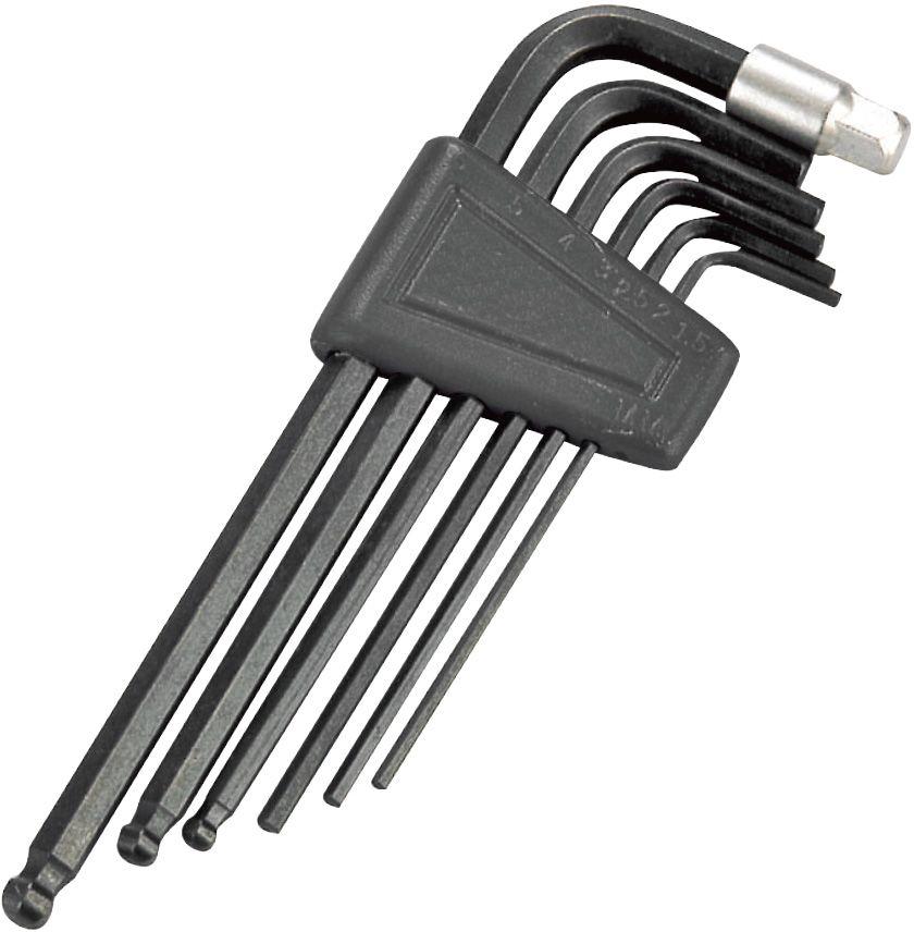 Набор шестигранных ключей To Be, 7 шт. 21332133Набор шестигранных ключей To Be, выполненный из стали, состоит из 7 шестигранных ключей (2 мм, 2,5 мм, 3 мм, 4 мм, 5 мм, 6 мм, 8 мм). Такой компактный набор включает в себя все самые необходимые элементы и нужен любому велосипедисту. Он поместится даже в самой маленькой сумке на раму.