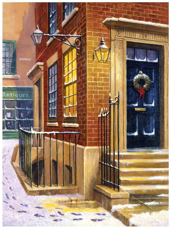 Royal & Langnickel Картина по номерам Улица в снегу
