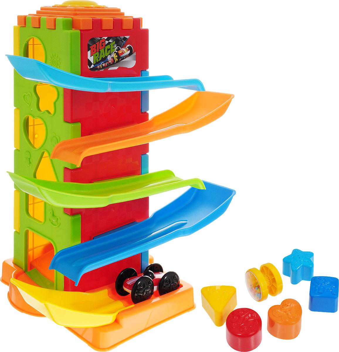 Playgo Развивающая игрушка Башня испытаний 5 в 1 сортеры playgo развивающая игрушка башня испытаний 5 в 1