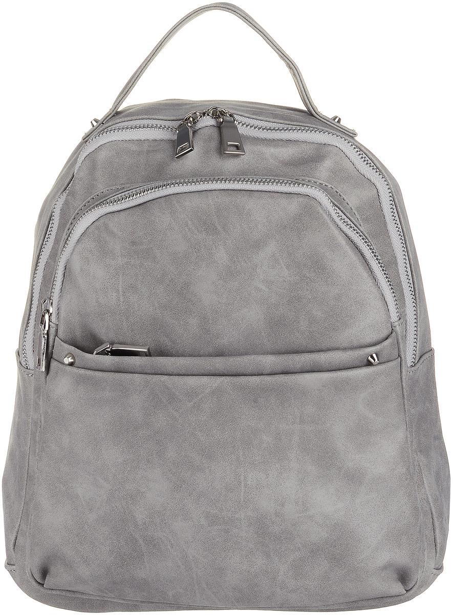 Рюкзак женский OrsOro, цвет: серый. D-183/39