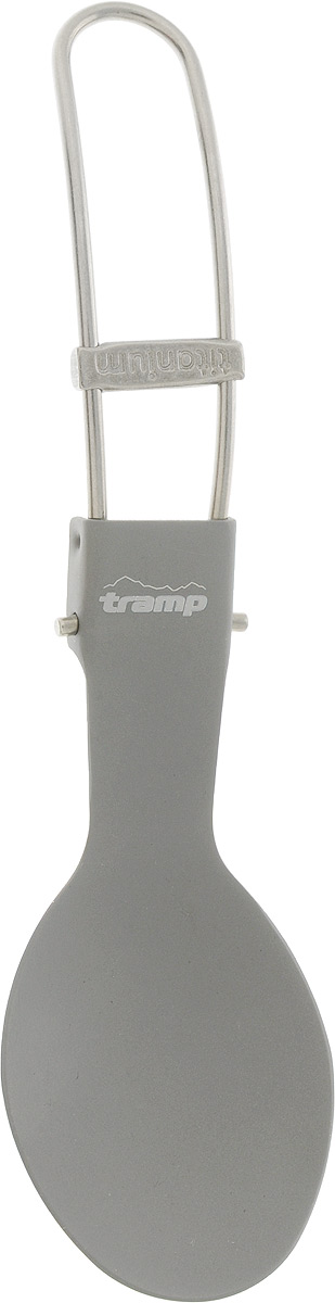 Ложка складная Tramp, титановаяTRC-065Складная ложка-вилка Tramp изготовлена из титана. Благодаря складной конструкции удобна для хранения и транспортировки. Весит всего 18 г, в сложенном виде занимает минимум места.Длина: 16 см.
