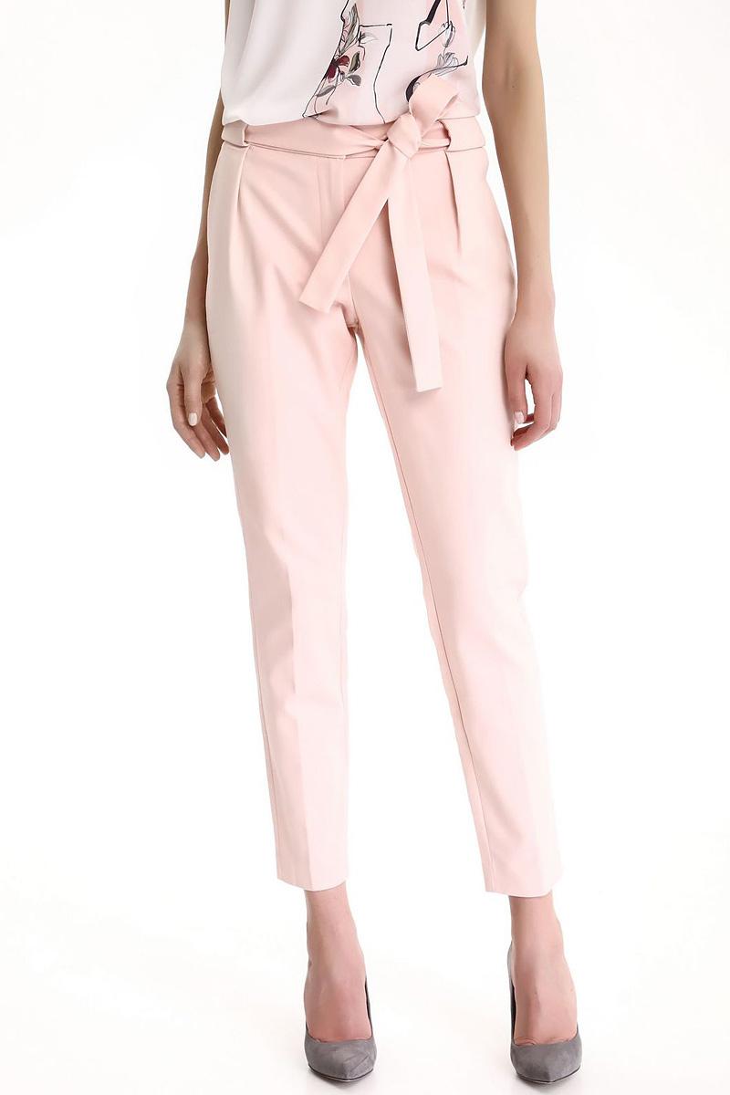 Брюки женские Top Secret, цвет: светло-розовый. SSP2479JR. Размер 40 (48)SSP2479JRСтильные женские брюки Top Secret - брюки высочайшего качества на каждый день, которые прекрасно сидят. Модель изготовлена из высококачественного комбинированного материала. Эти модные и в тоже время комфортные брюки послужат отличным дополнением к вашему гардеробу. В них вы всегда будете чувствовать себя уютно и комфортно.