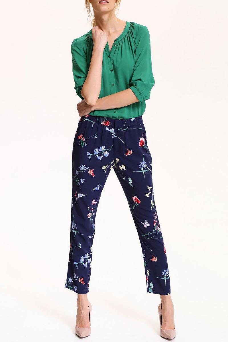 Брюки женские Top Secret, цвет: темно-синий. SSP2513GR. Размер 42 (50)SSP2513GRСтильные женские брюки Top Secret - брюки высочайшего качества на каждый день, которые прекрасно сидят. Модель изготовлена из вискозы. Эти модные и в тоже время комфортные брюки послужат отличным дополнением к вашему гардеробу. В них вы всегда будете чувствовать себя уютно и комфортно.