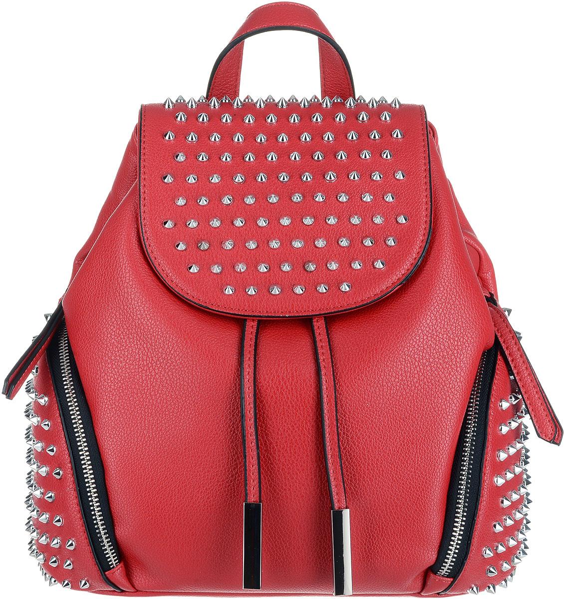 Рюкзак женский OrsOro, цвет: красный. D-260/2