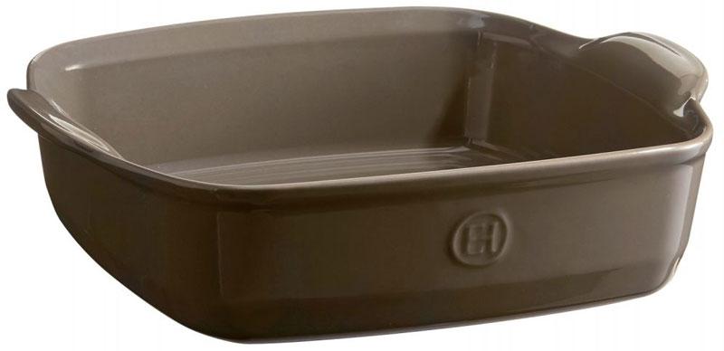 Форма для запекания Emile Henry, квадратная, 23 х 28 см952050Высокопрочная керамика, из которой изготовлена форма Emile Henry, равномерно распределяет и сохраняет тепло, что идеально для приготовления запеканок, гратенов, лазаний. Форма достаточно вместительна, и в ней можно подавать блюда прямо на стол. Форма выполнена в новом цвете Флинт. Флинт - это воплощение элегантности и спокойствия на вашей кухне, прекрасно сочетается с остальными цветами форм от Emile Henry.