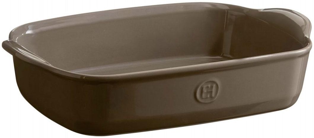 Форма для запекания Emile Henry, прямоугольная, 19 х 29 см959650Высокопрочная керамика, из которой изготовлена форма Emile Henry, равномерно распределяет и сохраняет тепло, что идеально для приготовления запеканок, гратенов, лазаний. Форма достаточно вместительна, и в ней можно подавать блюда прямо на стол. Форма выполнена в новом цвете Флинт. Флинт - это воплощение элегантности и спокойствия на вашей кухне, прекрасно сочетается с остальными цветами форм от Emile Henry.