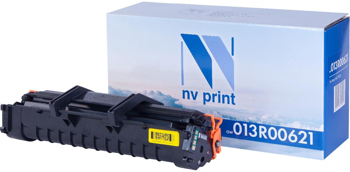 NV Print 013R00621, Black тонер-картридж для Xerox WC PE220NV-013R00621Совместимый лазерный картридж NV Print 013R00621 для печатающих устройств Xerox WC - это альтернатива приобретению оригинальных расходных материалов. При этом качество печати остается высоким. Картридж обеспечивает повышенную чёткость чёрного текста и плавность переходов оттенков серого цвета и полутонов, позволяет отображать мельчайшие детали изображения.Лазерные принтеры, копировальные аппараты и МФУ являются более выгодными в печати, чем струйные устройства, так как лазерных картриджей хватает на значительно большее количество отпечатков, чем обычных. Для печати в данном случае используются не чернила, а тонер.