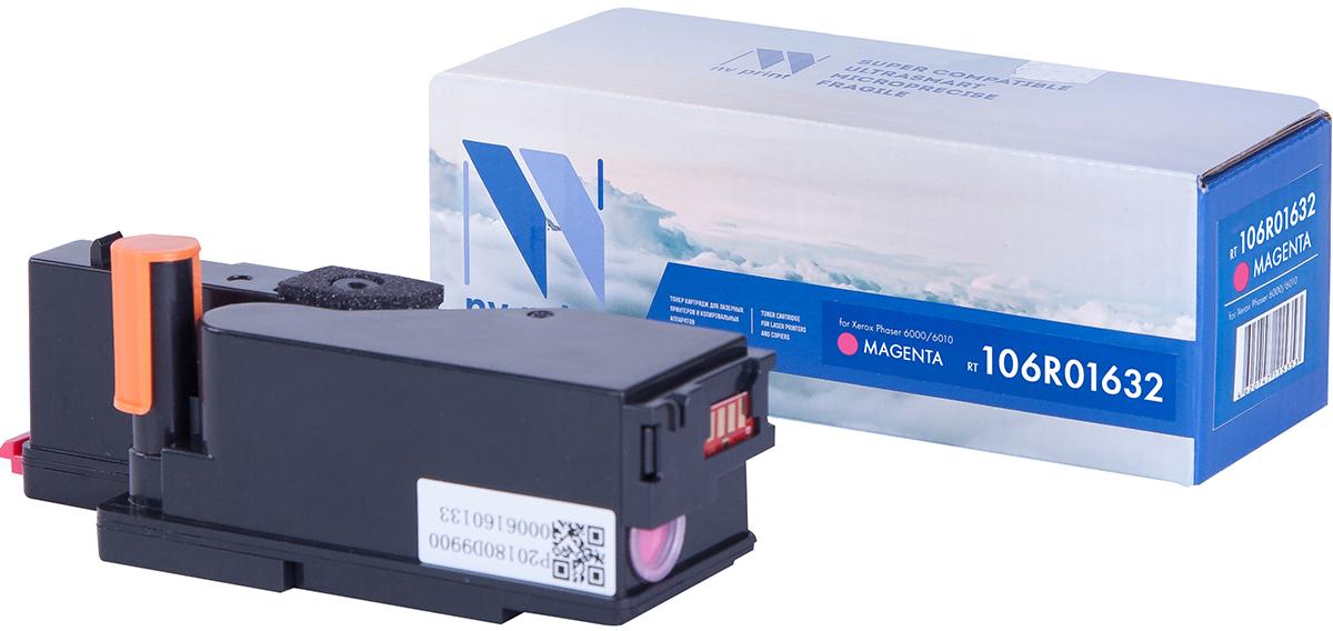 NV Print 106R01632M, Magenta тонер-картридж для Xerox Phaser 6000/6010NV-106R01632MСовместимый лазерный картридж NV Print 106R01632M для печатающих устройств Xerox - это альтернатива приобретению оригинальных расходных материалов. При этом качество печати остается высоким. Картридж обеспечивает повышенную чёткость и плавность переходов оттенков цвета и полутонов, позволяет отображать мельчайшие детали изображения.Лазерные принтеры, копировальные аппараты и МФУ являются более выгодными в печати, чем струйные устройства, так как лазерных картриджей хватает на значительно большее количество отпечатков, чем обычных. Для печати в данном случае используются не чернила, а тонер.