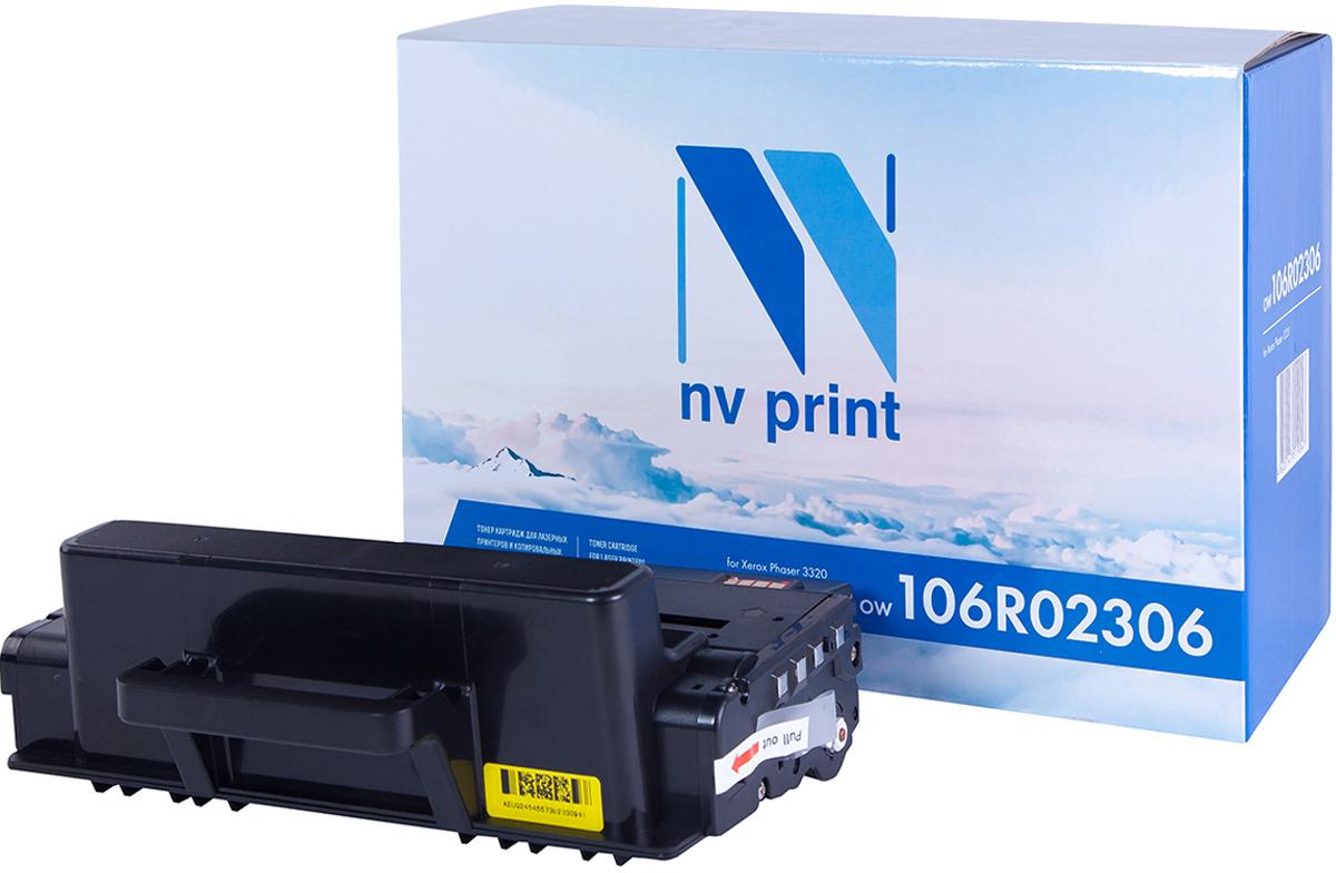 NV Print 106R02306, Black тонер-картридж для Xerox Phaser 3320NV-106R02306Совместимый лазерный картридж NV Print 106R02306 для печатающих устройств Xerox - это альтернатива приобретению оригинальных расходных материалов. При этом качество печати остается высоким. Картридж обеспечивает повышенную чёткость чёрного текста и плавность переходов оттенков серого цвета и полутонов, позволяет отображать мельчайшие детали изображения.Лазерные принтеры, копировальные аппараты и МФУ являются более выгодными в печати, чем струйные устройства, так как лазерных картриджей хватает на значительно большее количество отпечатков, чем обычных. Для печати в данном случае используются не чернила, а тонер.