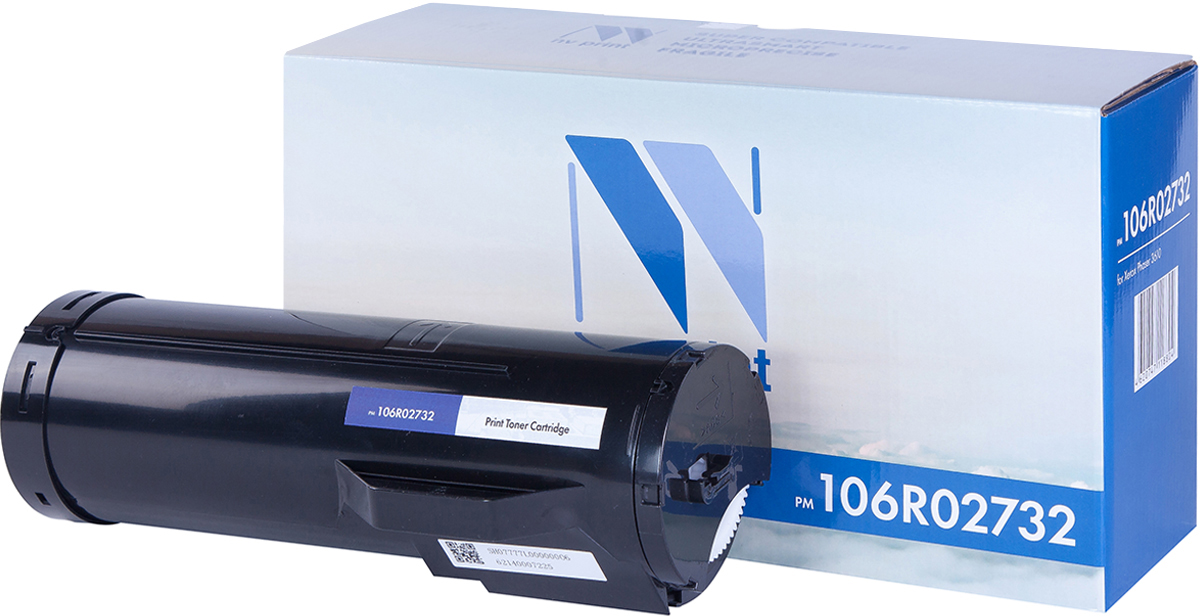 NV Print 106R02732, Black тонер-картридж для Xerox Phaser 3610/WC 3615 картридж для мфу xerox 013r00589 black