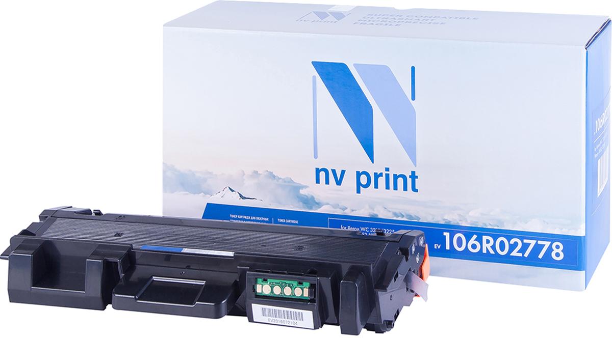 NV Print 106R02778, Black тонер-картридж для Xerox Phaser 3052/3260/WC 3215/3225 картридж для принтера nv print для hp cf403x magenta