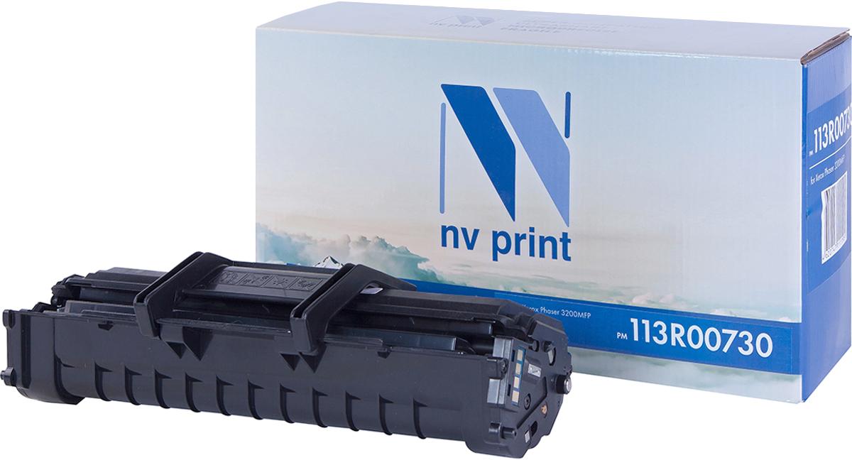 NV Print 113R00730, Black тонер-картридж для Xerox Phaser 3200MFPNV-113R00730Совместимый лазерный картридж NV Print 113R00730 для печатающих устройств Xerox - это альтернатива приобретению оригинальных расходных материалов. При этом качество печати остается высоким. Картридж обеспечивает повышенную чёткость чёрного текста и плавность переходов оттенков серого цвета и полутонов, позволяет отображать мельчайшие детали изображения.Лазерные принтеры, копировальные аппараты и МФУ являются более выгодными в печати, чем струйные устройства, так как лазерных картриджей хватает на значительно большее количество отпечатков, чем обычных. Для печати в данном случае используются не чернила, а тонер.
