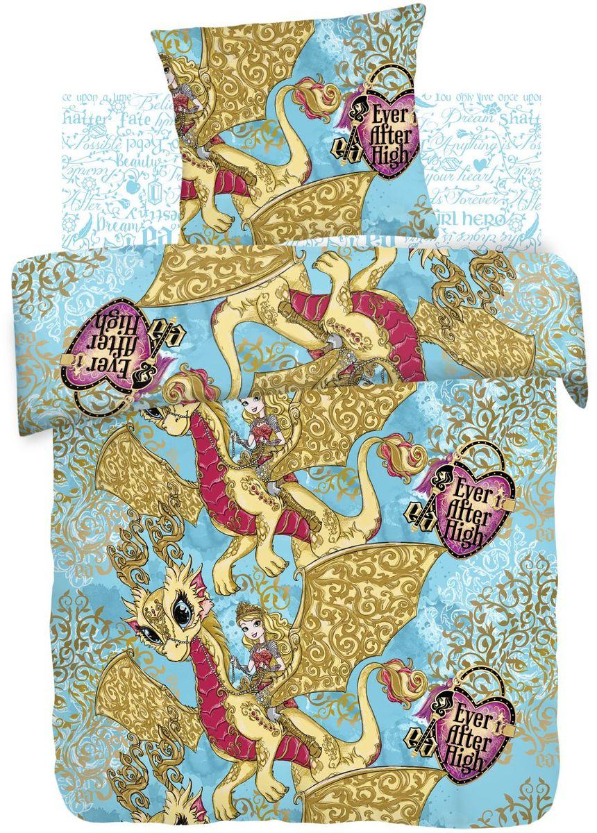 Комплект детского постельного белья Ever After High Игры драконов, 1,5-спальный, наволочки 70х70397977