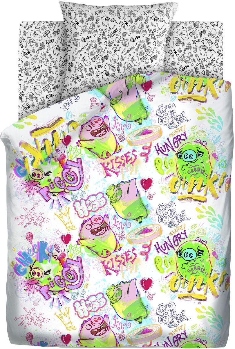 Комплект детского постельного белья Angry Birds