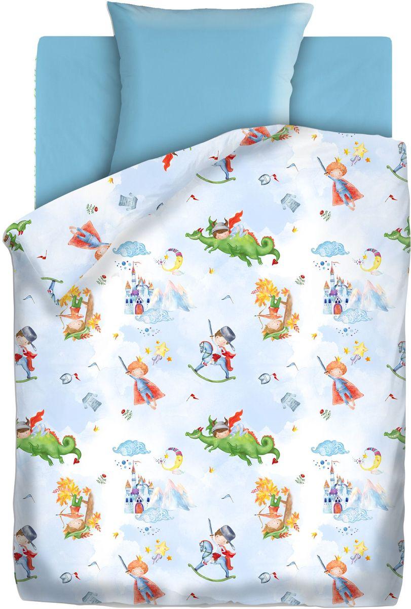 Комплект детского постельного белья Непоседа Отважный герой, 1,5-спальный, наволочки 70х70423337