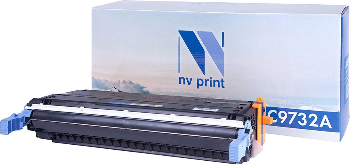 NV Print C9732AY, Yellow тонер-картридж для HP Color LaserJet 5500/5550 картридж для принтера nv print для hp cf403x magenta