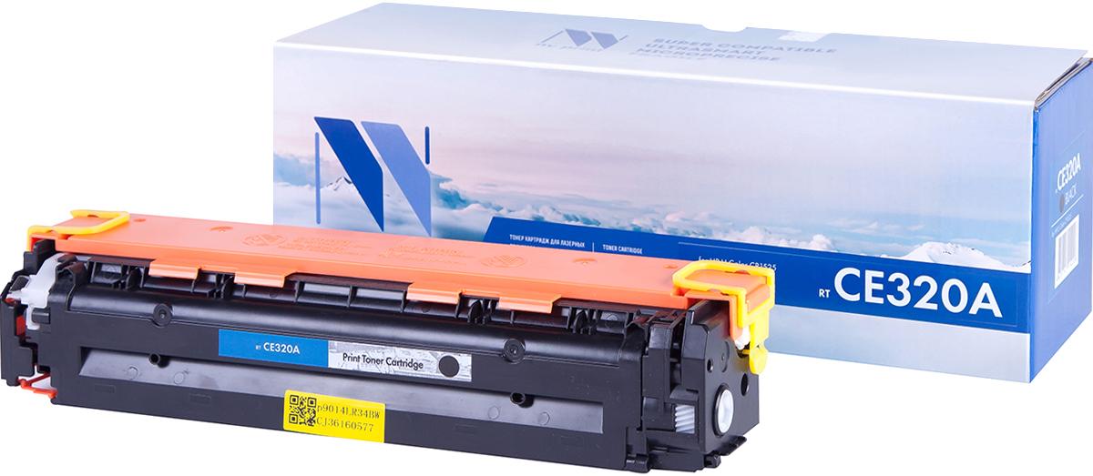 NV Print CE320ABk, Black тонер-картридж для HP Color LaserJet PRO CP1525N/CP1525NW картридж nv print magenta для laserjet color pro cp1525n cp1525nw cm1415fn cm1415fnw 1300k nv ce323am