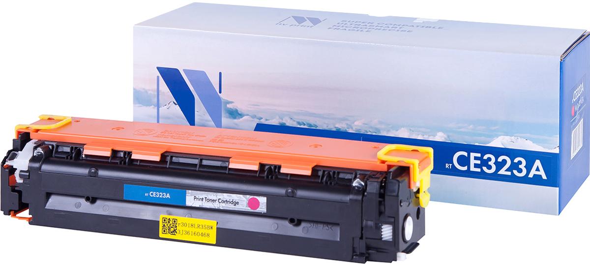 NV Print CE323AM, Magenta тонер-картридж для HP Color LaserJet PRO CP1525N/CP1525NWNV-CE323AMСовместимый лазерный картридж NV Print CE323AM для печатающих устройств HP - это альтернатива приобретению оригинальных расходных материалов. При этом качество печати остается высоким. Картридж обеспечивает повышенную чёткость чёрного текста и плавность переходов оттенков серого цвета и полутонов, позволяет отображать мельчайшие детали изображения.Лазерные принтеры, копировальные аппараты и МФУ являются более выгодными в печати, чем струйные устройства, так как лазерных картриджей хватает на значительно большее количество отпечатков, чем обычных. Для печати в данном случае используются не чернила, а тонер.