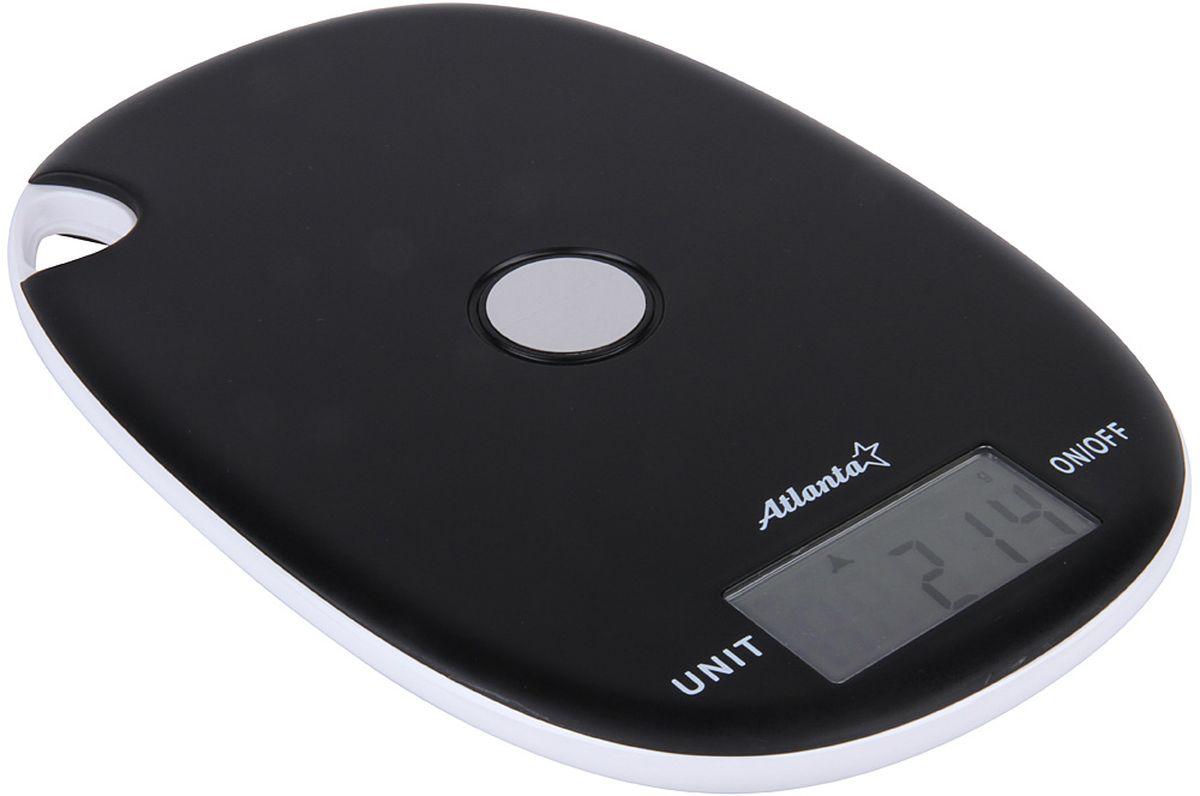 Atlanta ATH-6211, Black весы кухонныеATH-6211 blackКухонные электронные весы Atlanta ATH-6211 - незаменимые помощники современной хозяйки. Они помогут точно взвесить любые продукты и ингредиенты. Кроме того, позволят людям, соблюдающим диету, контролировать количество съедаемой пищи и размеры порций. Предназначены для взвешивания продуктов с точностью измерения 1 грамм.Размер дисплея: 5,9 см х 2,8 смФункция обнуления веса