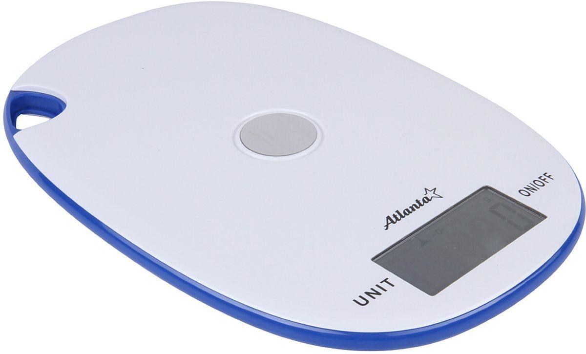Atlanta ATH-6211, White весы кухонныеATH-6211 whiteКухонные электронные весы Atlanta ATH-6211 - незаменимые помощники современной хозяйки. Они помогут точно взвесить любые продукты и ингредиенты. Кроме того, позволят людям, соблюдающим диету, контролировать количество съедаемой пищи и размеры порций. Предназначены для взвешивания продуктов с точностью измерения 1 грамм.Размер дисплея: 5,9 см х 2,8 смФункция обнуления веса